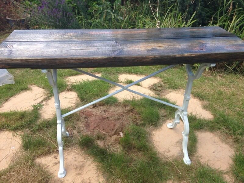 Cast iron reclaimed old buy sale and trade ads great prices for 100 year old oak table