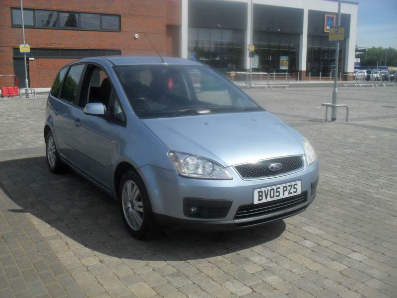 2005 ford focus c max 1 8 16v ghia united kingdom gumtree. Black Bedroom Furniture Sets. Home Design Ideas