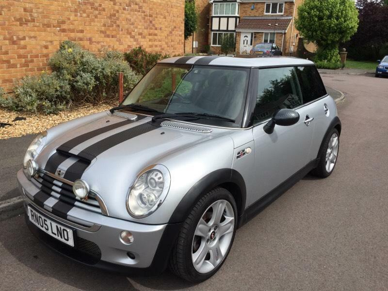 2005 mini cooper s silver leather pan roof united for South motors mini cooper
