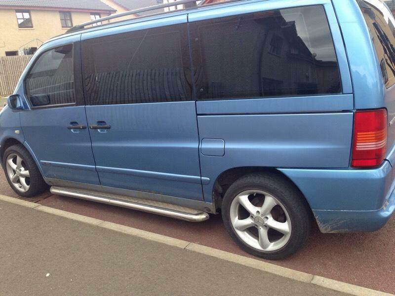Mercedes vito 7 seater united kingdom gumtree for Mercedes benz seven seater