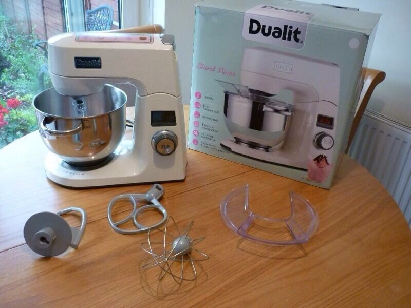 dualit digital stand mixer brand new i have this new boxed dualit stand mixer with all. Black Bedroom Furniture Sets. Home Design Ideas