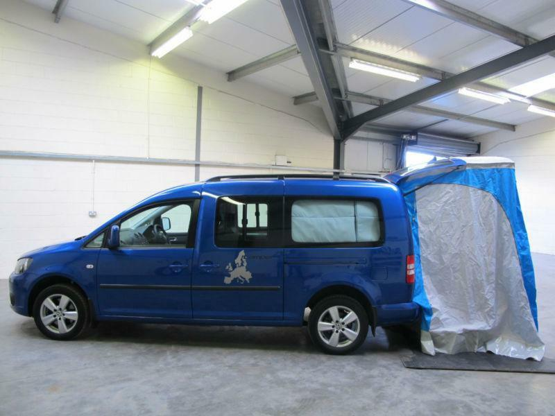 volkswagen caddy maxi kombi 140bhp camper 2 0tdi. Black Bedroom Furniture Sets. Home Design Ideas