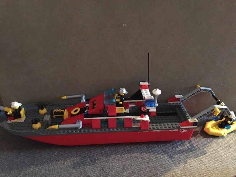 lego лодка фото