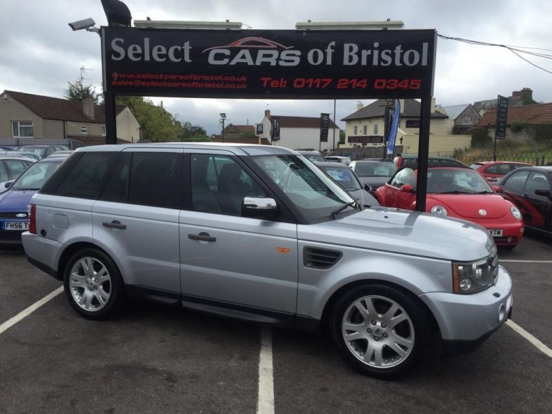 2006 Land Rover Range Rover Sport 4 4 Hse 5dr United
