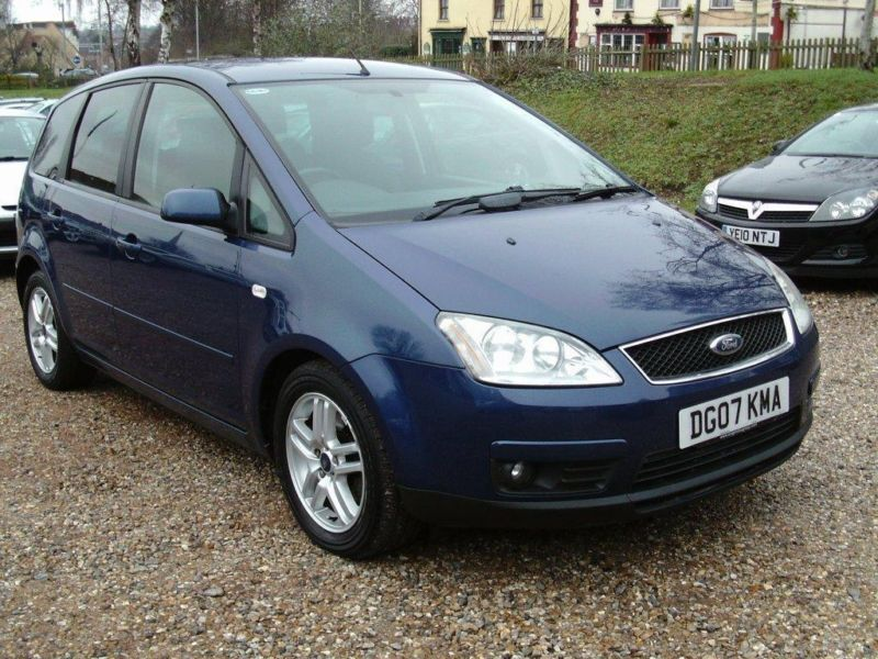 2007 ford focus c max 1 8td zetec 5dr thinkcar. Black Bedroom Furniture Sets. Home Design Ideas