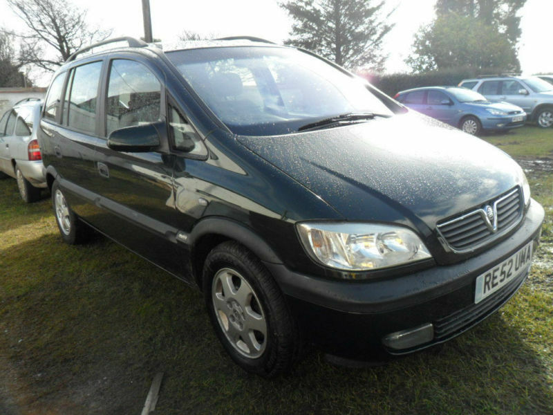 vauxhall opel zafira 2 0 dti 16v 2002 elegance thinkcar. Black Bedroom Furniture Sets. Home Design Ideas