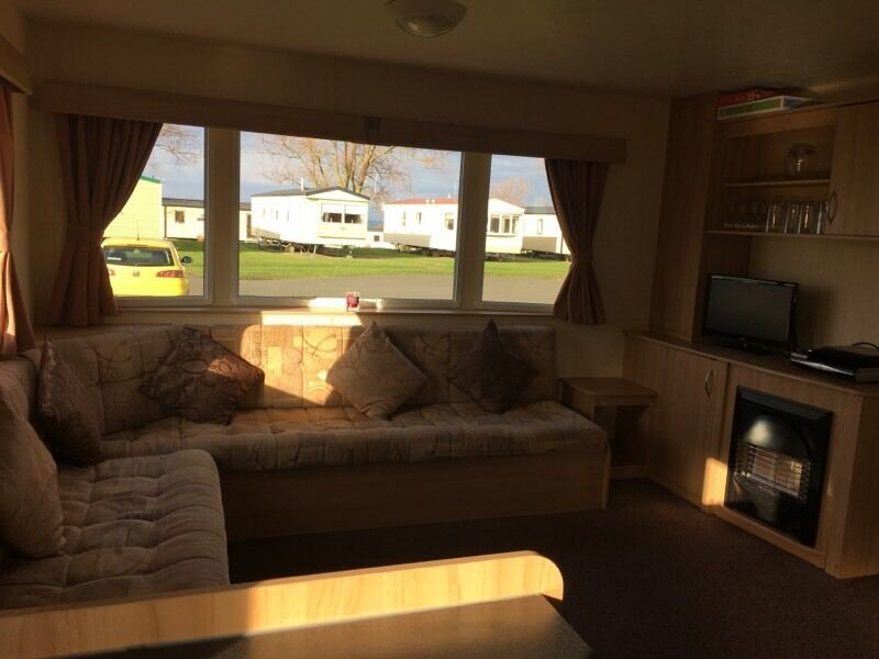 Fantastic DOG FRIENDLY CARAVAN FOR HIRE HUNSTANTON  GRANDA 6BERTH  In
