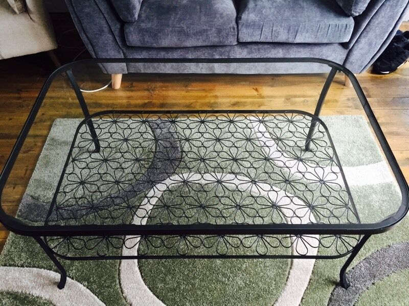 Ikea Glass Metal Coffee Table Ikea Glass Coffee Table