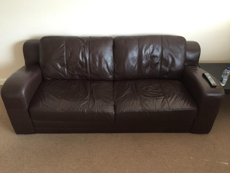 Brown Leather Sofa United Kingdom Gumtree