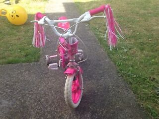 Girl Bike 3-5yrs