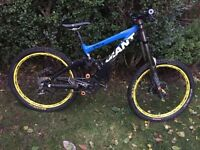 Downhill bikes plus frame need sold now