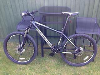 """Carrera MTB 26"""" hardtail bike 24 gear hydraulic breaks"""