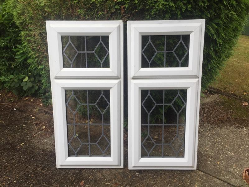 Upvc plastic windows good for garage or shed united for Upvc front doors for sale