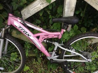 Unwanted girls bike