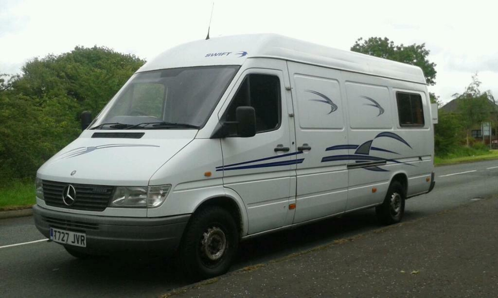 Mercedes benz sprinter camper van for sale autos post for Mercedes benz camper vans for sale