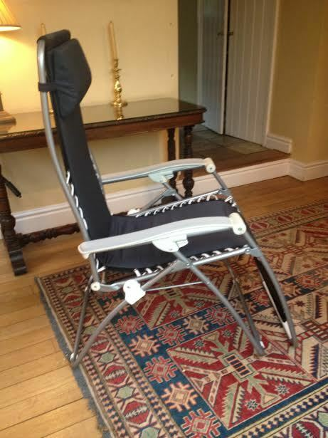 Lafuma Reclining Chair Suitable For Reflexology Includes