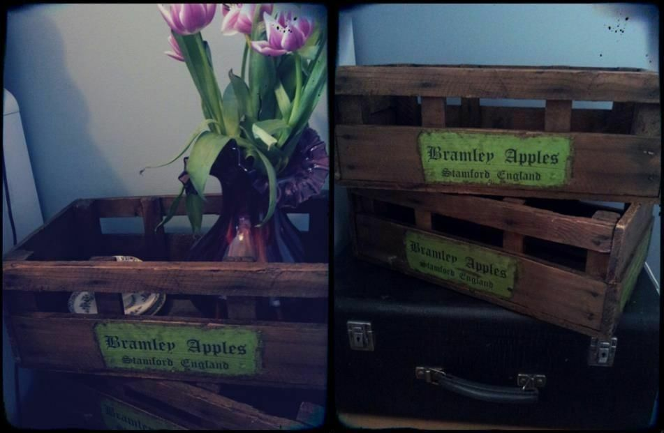 Wooden crates for storage or buy sale and trade ads for Perfect kitchen bramley