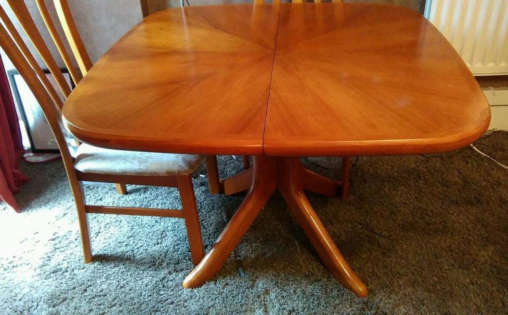 dinning table with or without 4 chairs united kingdom gumtree