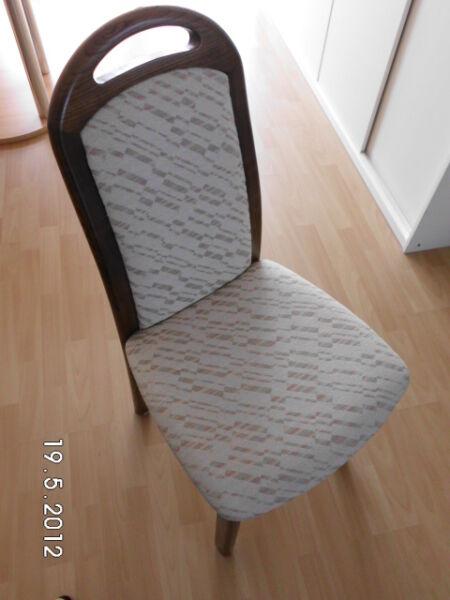 polsterstuhl eiche wie neu in nordrhein westfalen heiden st hle gebraucht kaufen ebay. Black Bedroom Furniture Sets. Home Design Ideas