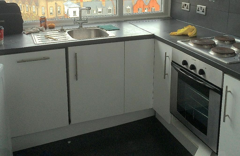 Ikea fitted kitchen cabinets buy or sell find it used for Tall fitted kitchen unit