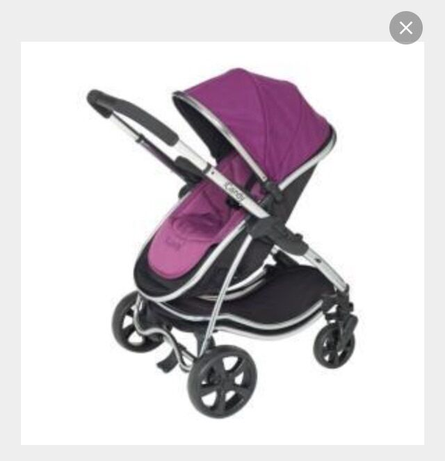 Icandy Strawberry Carrycot Icandy Strawberry 3 in 1