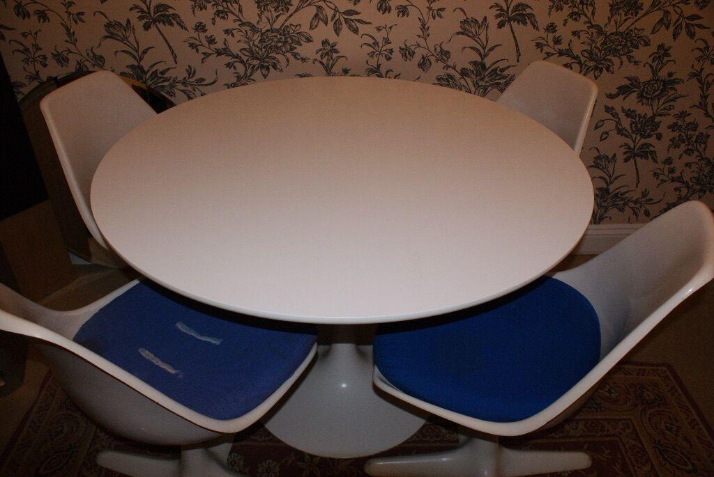 Original Arkana Star 1972 Table And 4 Swivel Chairs United Kingdom Gumtree