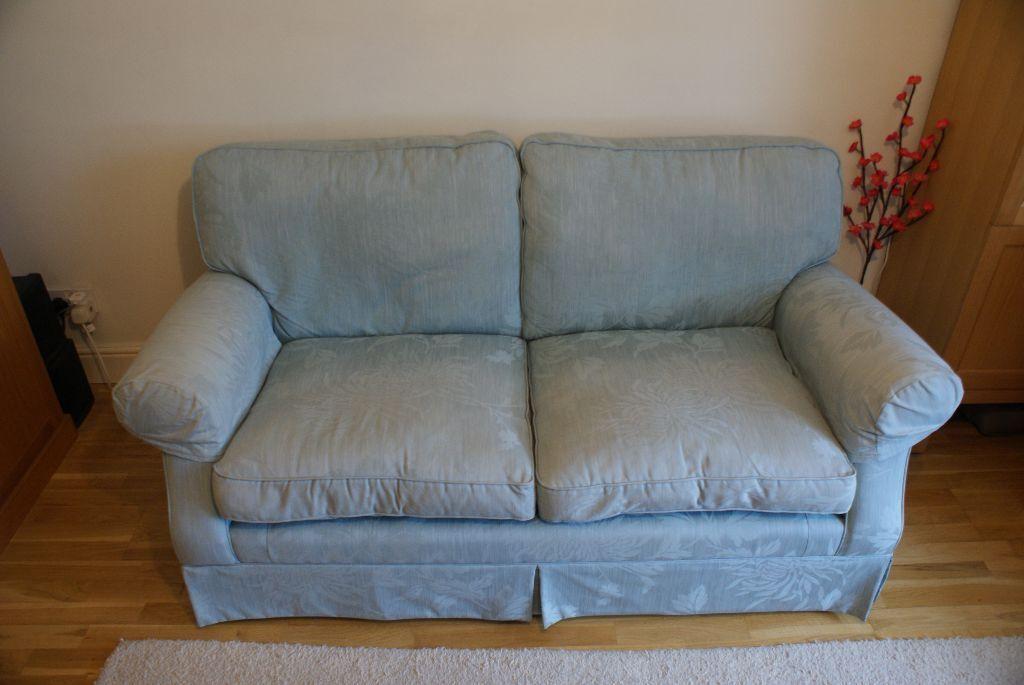 Laura Ashley Aqua Blue Sofa United Kingdom Gumtree