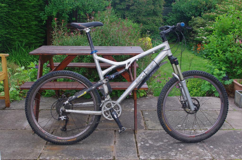 Gary Fisher Hi Fi Plus Mountain Bike Full Suspension