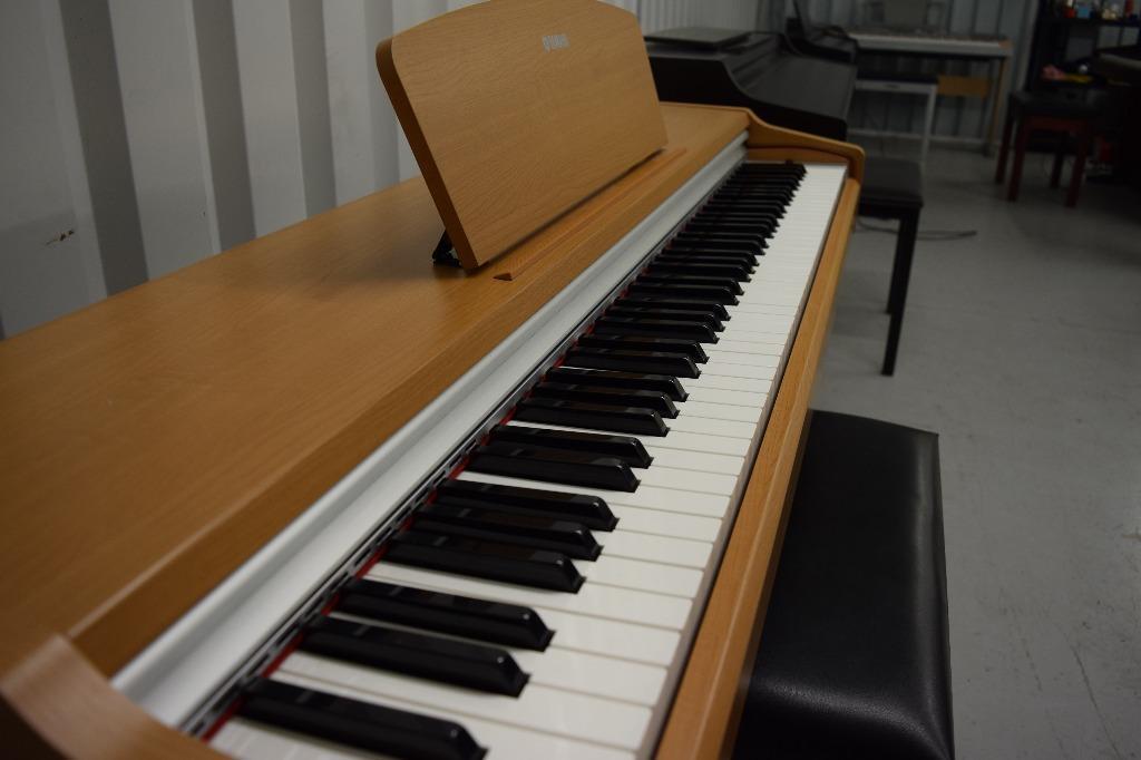 Yamaha arius ydp 131c digital piano in cherry weighted for Yamaha dgx640c digital piano cherry