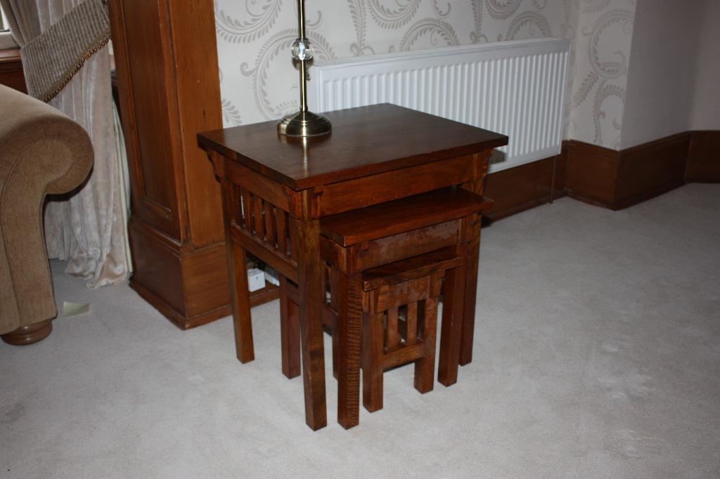 John Lewis mahogany nest of 3 tables United Kingdom  : 86 from gumtree.com size 1024 x 682 jpeg 64kB