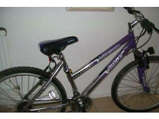 LADIES SABRE MOUNTIAN BIKE IN VERY GOOD CONDITION.