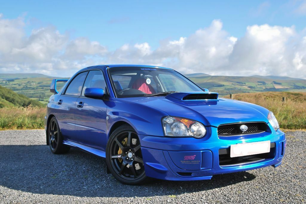Subaru Impreza Sti Type Uk Prodrive Performance Pack