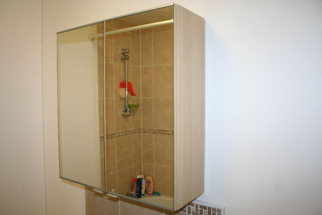 Bathroom mirrored door wall cabinet cupboard united for Bathroom cabinets gumtree