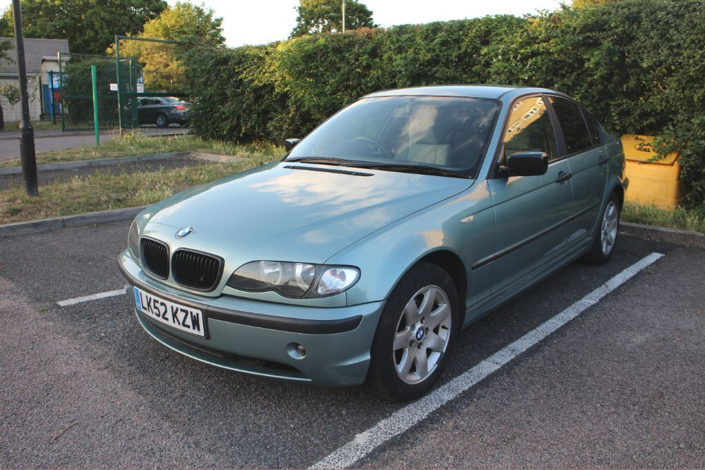 bmw e46 3 series facelift 52 se 2 0l 320d automatic diesel saloon 2002 auto sedan saloon green. Black Bedroom Furniture Sets. Home Design Ideas