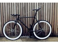 No extra Charge to customise Steel Frame Single speed road bike fixed gear racing fixie bicycle 175