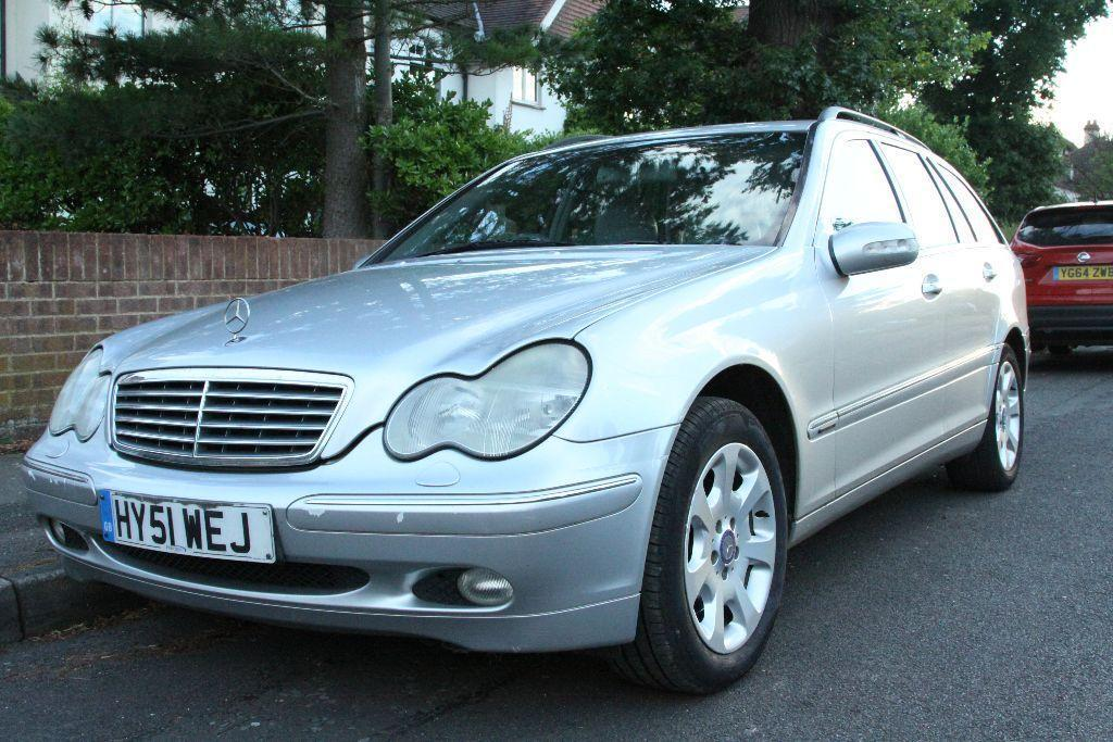 2001 mercedes c270 cdi elegance auto silver united kingdom gumtree. Black Bedroom Furniture Sets. Home Design Ideas