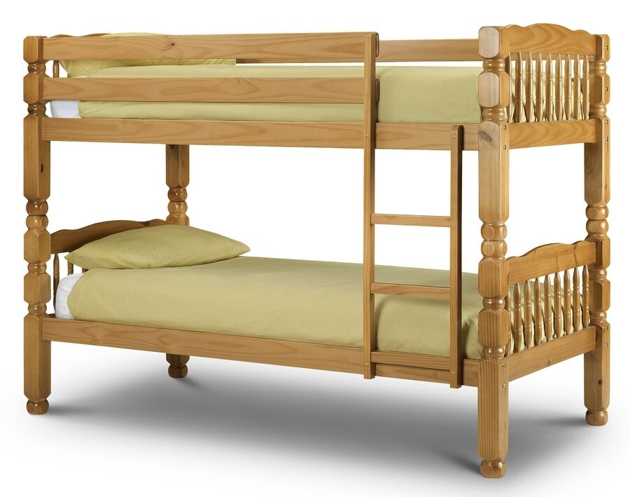 New arrival amazon pine solid wooden bunk bed with for Gumtree bunk beds