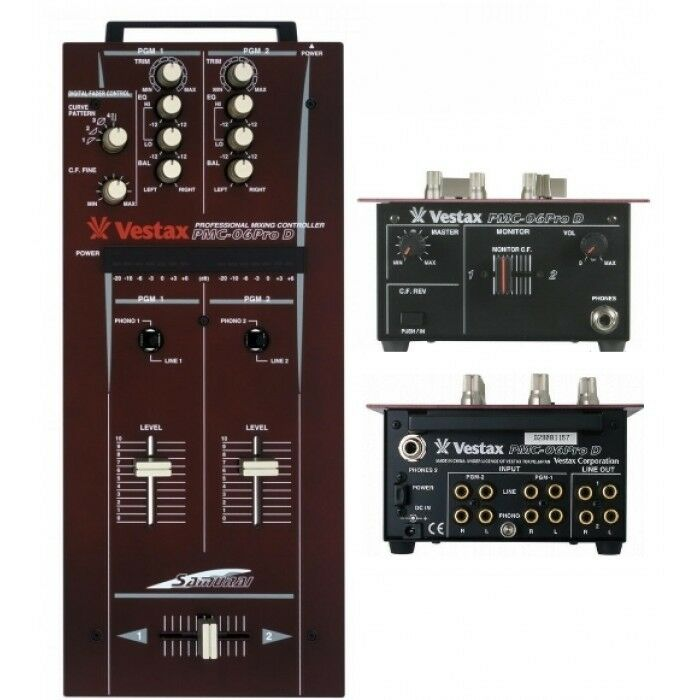 Vestax Pmc 06 Vestax Pmc 06 Pro d Classic