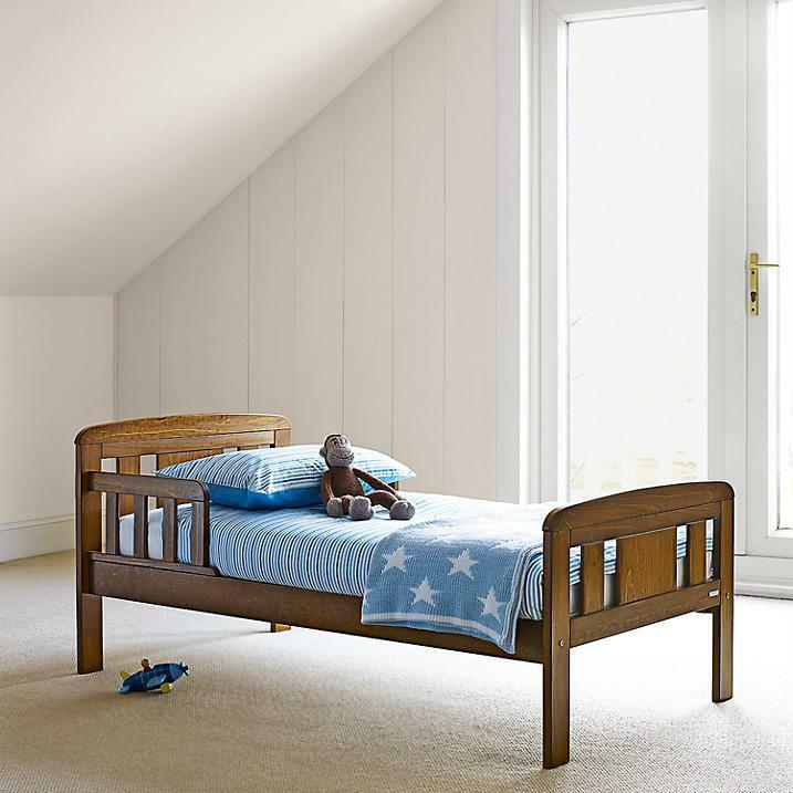 John Lewis Boris Toddler Bed In Antique Darkwood