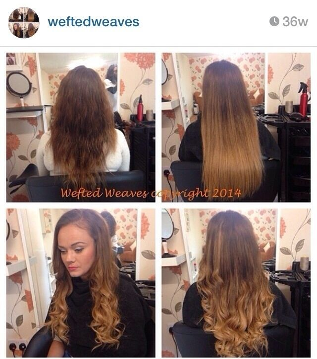 Weave Hair Extension Training Glasgow 42