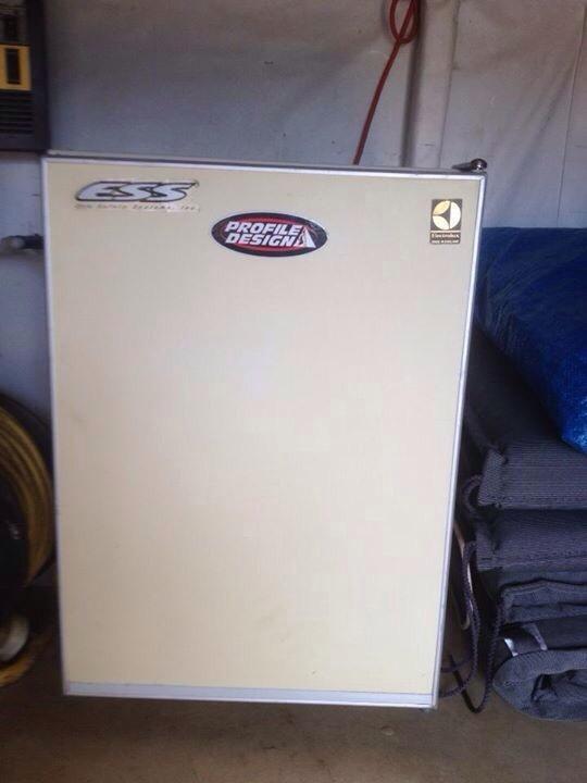 Small ele fridge ideal table top or camper caravan camping United ...