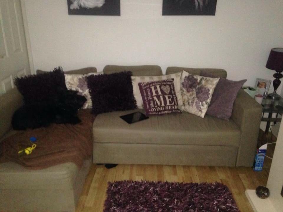 Ikea Corner Sete Turns Into Sofa Bed United Kingdom