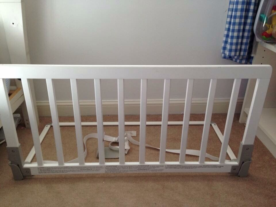 Baby Dan Bed Guard Bed Guard White Wooden Baby