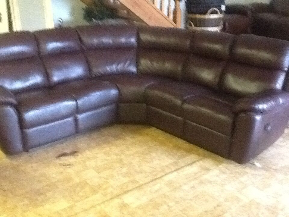 leather corner sofa with recliners united kingdom gumtree