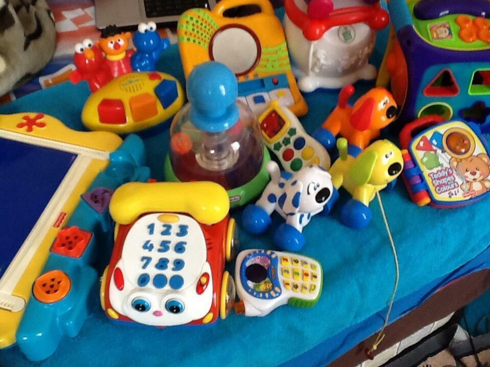 Sesame Street Toys For Toddlers : Large bundle of toys inc brands fisher price leap