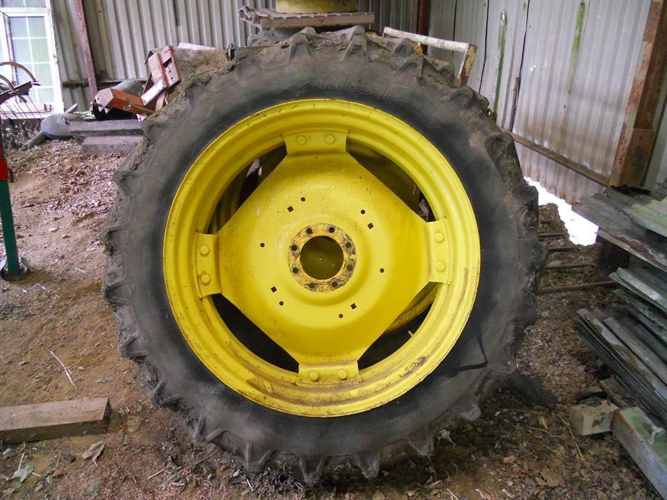 John Deere Tractor Rear Rims For 2010 : John deere rear tractor wheels with kleber super tyres