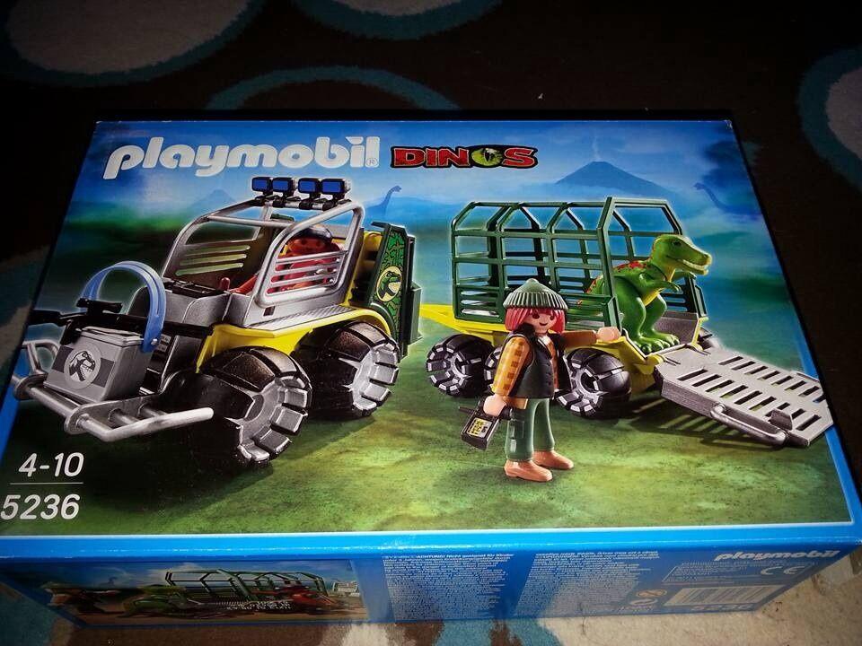 Playmobil Dinosaur Truck