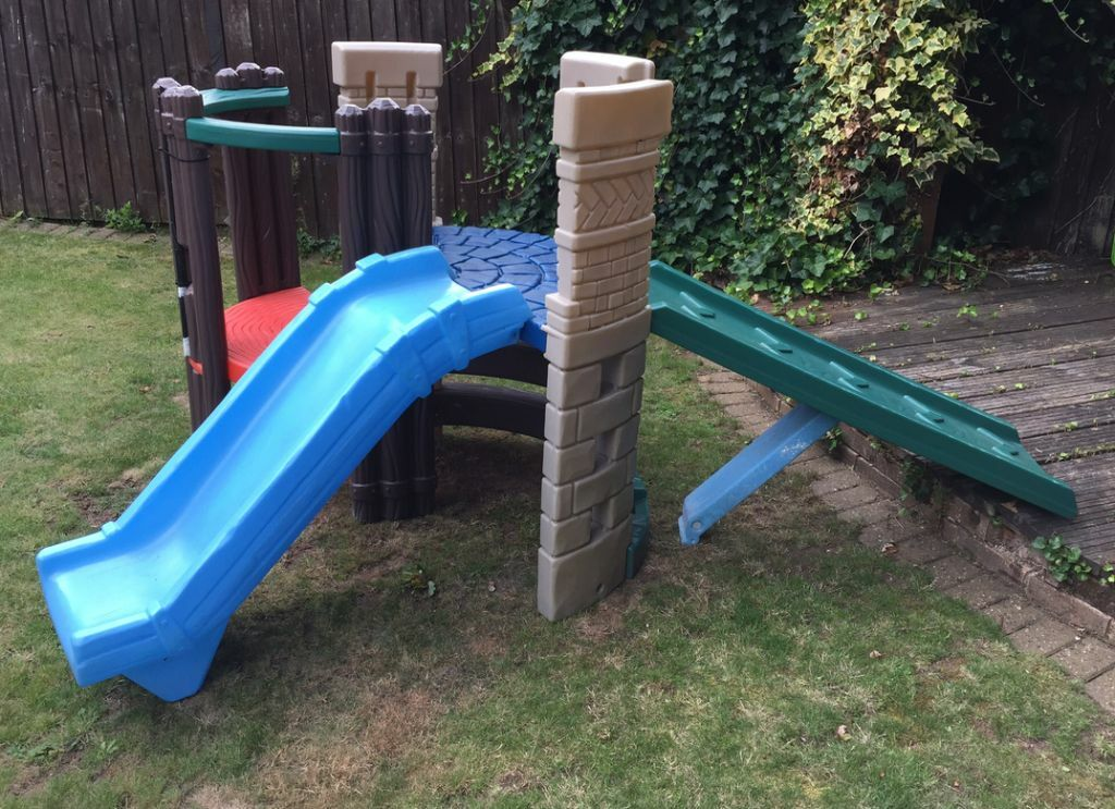 Little Tikes Castle And Slide Buy, Sale And Trade Ads