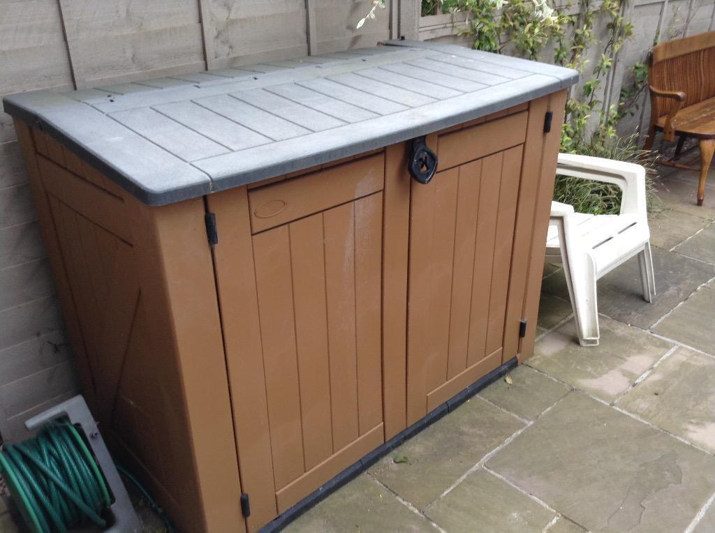 Garden Storage  Garden Storage Unit Plastic