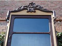 antiker gro er b cherschrank in brandenburg oranienburg kunst und antiquit ten gebraucht. Black Bedroom Furniture Sets. Home Design Ideas